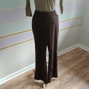 Dress pants brown sz12